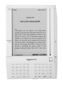 The first version of Amazon's Kindle