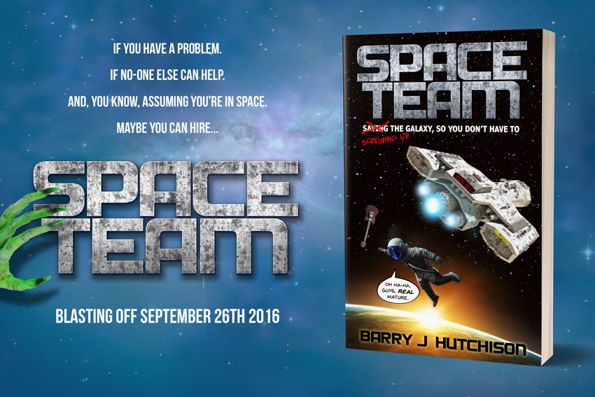 Watch the Space Team Trailer