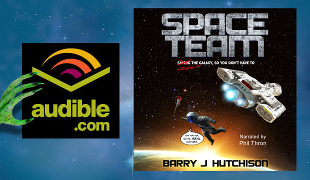 Space Team – the audiobook