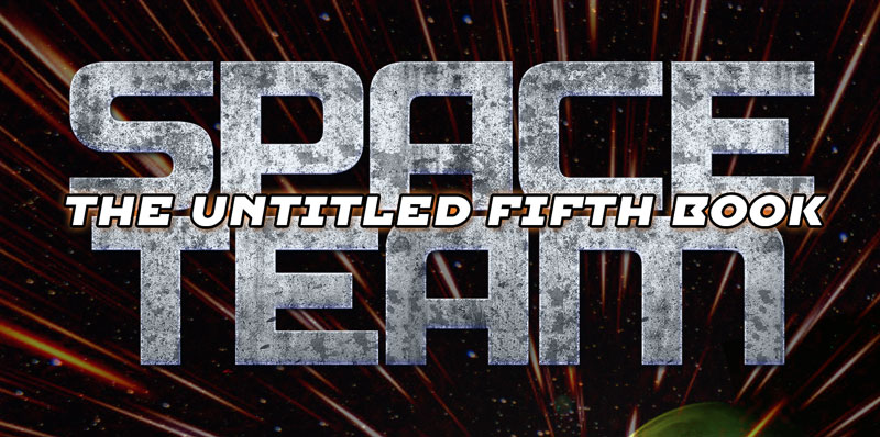 Space Team 5 Title and Cover Reveal